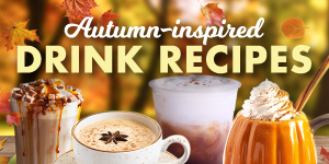 Autumn-Inspired Drink Recipes