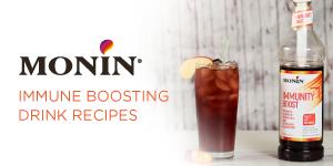 Immunity Boosting Beverages feat Monin