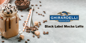 Classic Mocha Latte Recipe … with Ghirardelli Black Label