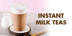 How to make instant milk tea... with Tea Zone