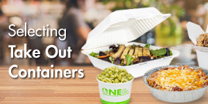 Selecting Take Out Containers