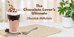 The Chocolate Lover's Ultimate Chocolate Milkshake