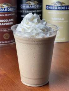 Ghirardelli Vanilla Bean Java Frappe