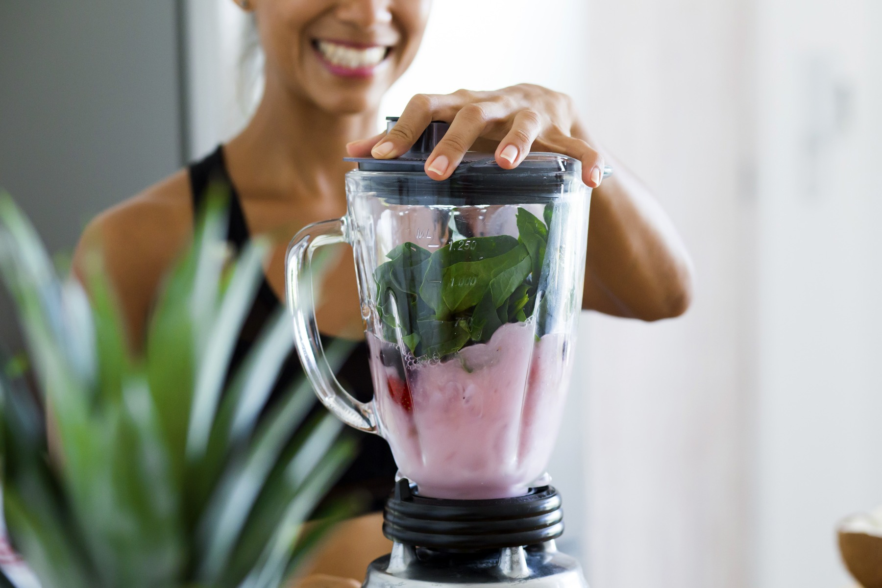 Making smoothie is easy